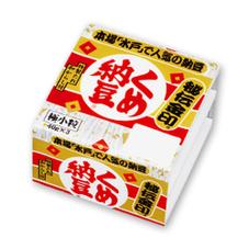 くめ納豆 秘伝金印 77円(税抜)