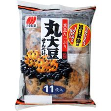 丸大豆せんべい  各種 108円(税抜)