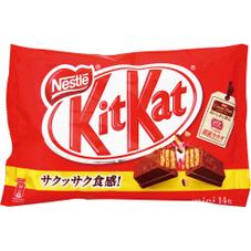 キットカットミニ  各種 198円(税抜)