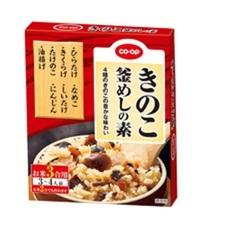 きのこ釜めしの素 158円(税抜)