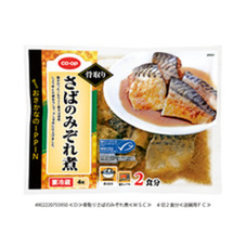 COOP骨取りさばのみぞれ煮 4切 298円(税抜)