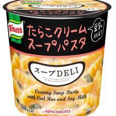 クノール スープDELI たらこクリームスープパスタ(豆乳仕立て) 108円(税抜)