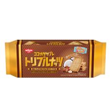 ココナッツサブレトリプルナッツ 78円(税抜)
