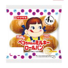 ペコちゃんのミルキーロールパン 98円(税抜)