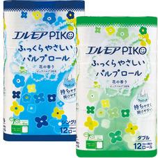 トイレットペーパーエルモアピコパルプ100%●シングル●ダブル 277円(税抜)