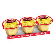 明治プリン3個パック 68円