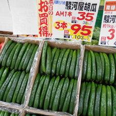 駿河屋胡瓜 95円(税抜)