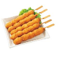 惣菜98円バイキング・うずら串フライ かりかりささみ揚げなど 98円(税抜)