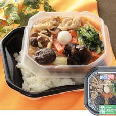 1食分の野菜と4種きのこの中華丼 498円