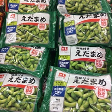 塩味付き枝豆 198円(税抜)