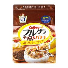フルグラ チョコクランチ&バナナ 550円(税抜)