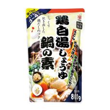 鍋の素 鶏白湯しょうゆ鍋 77円(税抜)