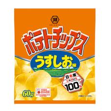 ポテトチップス うすしお味 58円(税抜)
