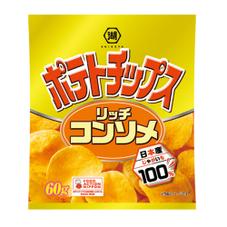 ポテトチップス リッチコンソメ 58円(税抜)