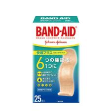 バンドエイド快適プラススタンダード 348円(税抜)