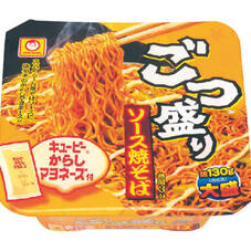 ごつ盛りソース焼そば 85円(税抜)