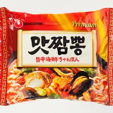 旨辛海鮮ちゃんぽん 158円(税抜)