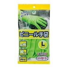 ビニ-ル手袋 中厚手 Lサイズ 108円