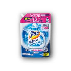 アタック抗菌EXスーパークリアジェル(詰替用)スパウトパウチ 328円(税抜)