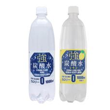 強炭酸水 1L 87円(税抜)