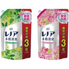 レノア本格消臭 超特大 詰替え用 各種 998円(税抜)