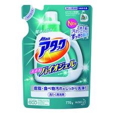 アタック 高浸透バイオジェルつめかえ用 192円