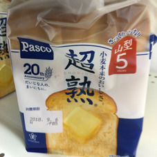 超熟食パン 137円(税抜)