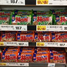 柿の種 187円(税抜)