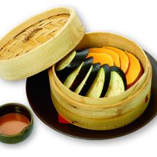 江戸東京野菜かぼちゃとなすの温野菜焼き 700円
