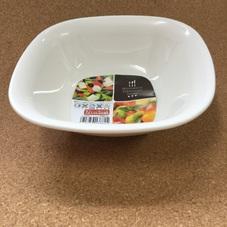 プラスチックお皿 角鉢 129円(税抜)