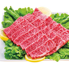 黒毛和牛焼肉用(モモ・カタ肉) 698円(税抜)