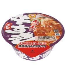 あつあつ牛すきうどん 108円