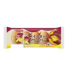 薄皮 スイートポテトクリームパン 108円