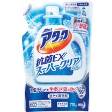 アタック抗菌EXスーパークリアジェル  詰替 168円(税抜)