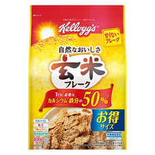 ケロッグ 玄米フレーク 徳用袋 398円(税抜)