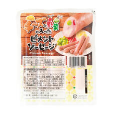 チーズと野菜の入ったピメントソーセージ 250円(税抜)