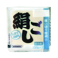 にがり絹豆腐 68円(税抜)