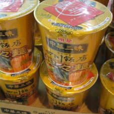 中華三昧カップ坦々麺 108円