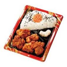 ご飯に合う唐揚と明太弁当 378円