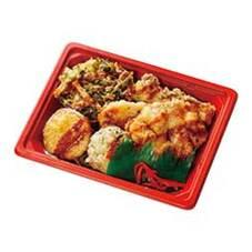 甘辛だれで食べる6種天丼 378円