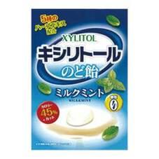 キシリトールのど飴ミルクミント味 108円