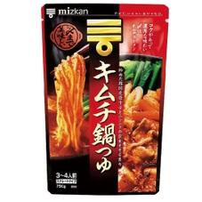 〆まで美味しい キムチ鍋つゆストレート 258円(税抜)