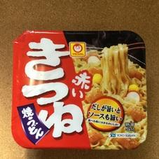 赤いきつね焼うどん 109円(税抜)