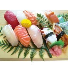 お魚屋さんのにぎり寿司 880円(税抜)