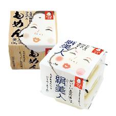 おかめ豆腐・もめん美人130g×3 絹美人150g×3 68円(税抜)