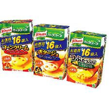 クノールカップスープお徳用・ポタージュ コーンクリーム つぶたっぷりコーン 548円(税抜)
