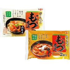 国産豚のやわらかもつ煮込・みそ味 辛みそ味 378円(税抜)