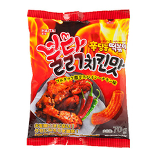 辛ダンドントッポッキスナックブルダック激辛スパイシーチキン味 98円(税抜)