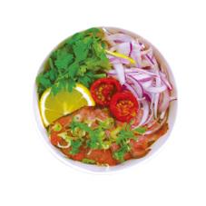 ベトナム風ピリ辛牛肉汁ビーフン 699円(税抜)