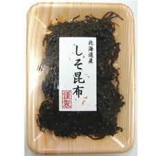 北海道産昆布使用しそ昆布 98円(税抜)